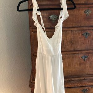 Forever 21 White Crossback Dress